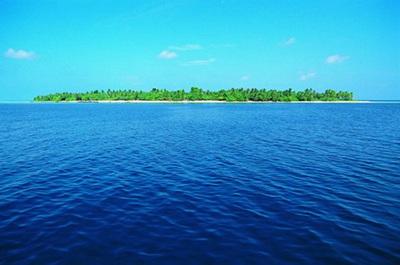 为什么海水是蓝色的?