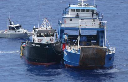 平行前进的两艘轮船,为什么会相撞?