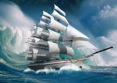 """帆船为什么能够""""逆风""""航行?"""