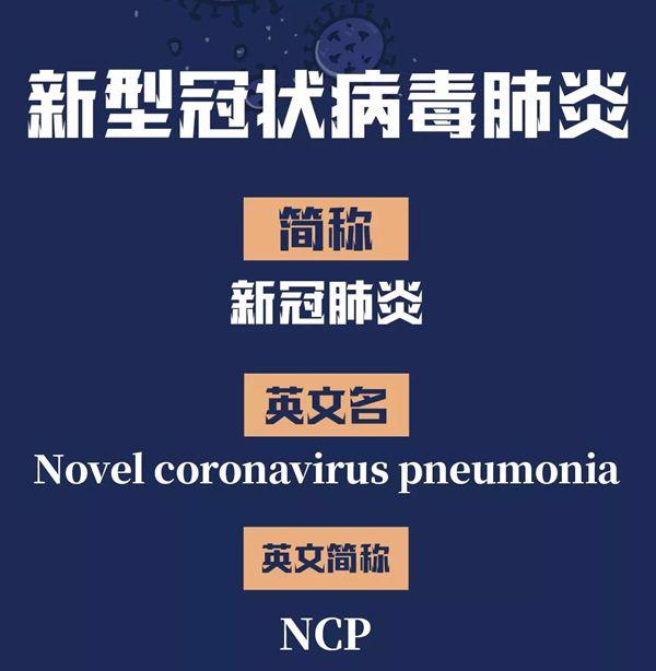 Nouvelle pneumonie à coronavirus