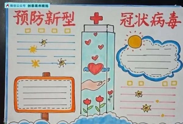 关于新型冠状病毒肺炎防护的手抄报内容4