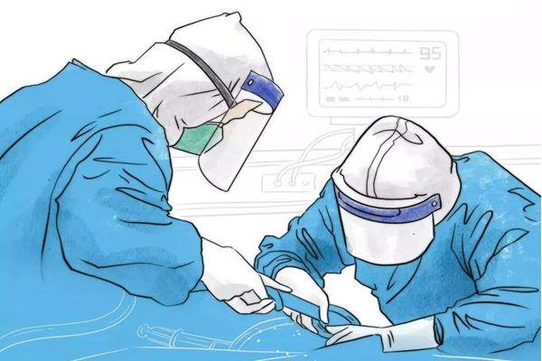動漫手繪人物圖片 抗擊疫情動漫人物未收錄 抗擊疫情的真實事件人物